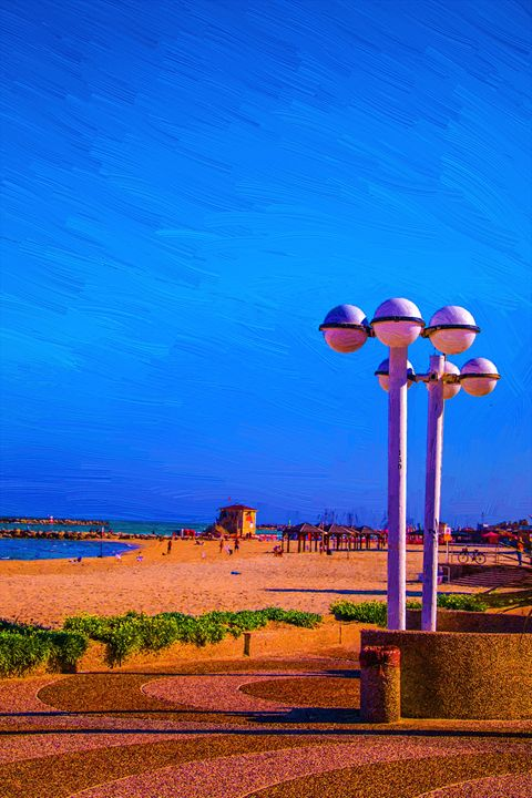 Tel Aviv beach - slavamalai