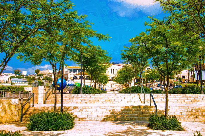 View of Jerusalem streets in Israel - slavamalai
