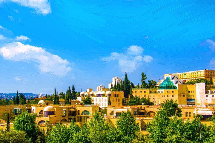 View of Jerusalem City - slavamalai