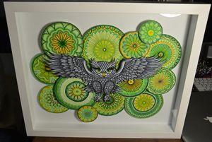 Owl and Mandalas