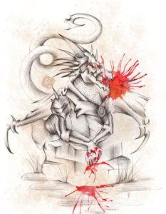 Dragon rocher