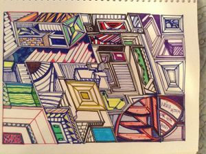 Dimensional rooftops