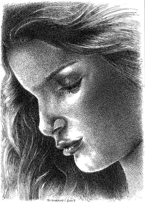 Original Ink Painting - ArtDesign1978