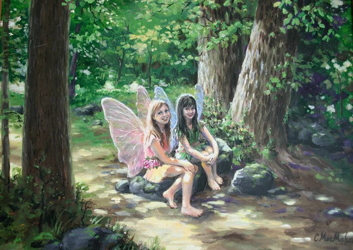 Hannah and Chloe Fairies - MacMahon Studios