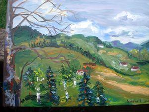 On the Carpathians hills