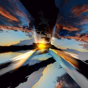 Cloud Reflections - Elaine Hunter