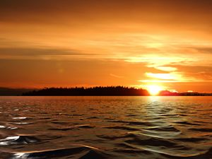 Sunset Salish Sea