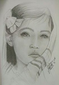 Portrid of a young girl