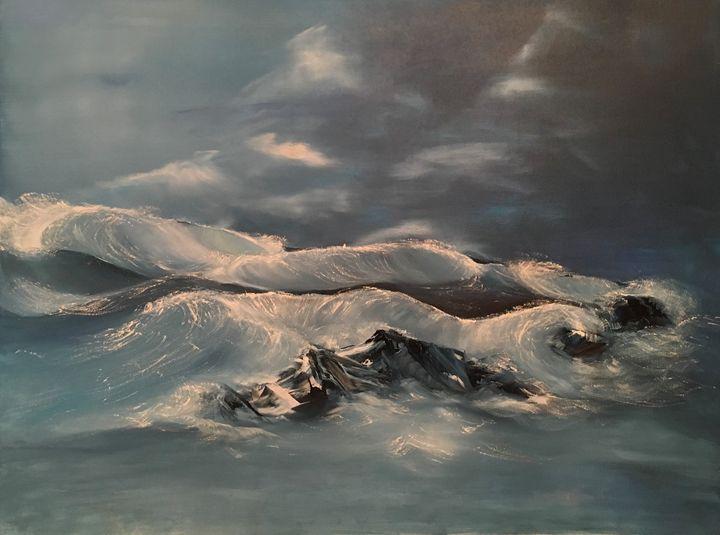 Ocean storm - Liviu Munteanu