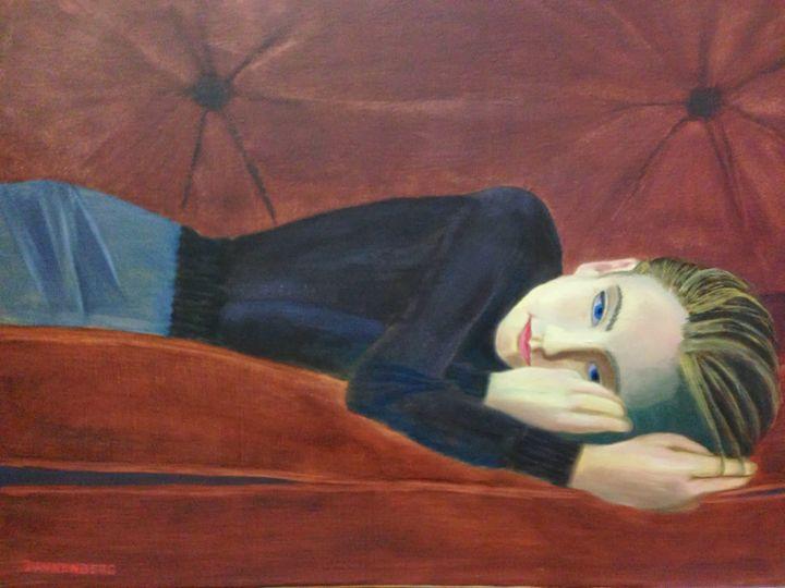 DAYDREAMING - Leslie Dannenberg, Oil Paintings