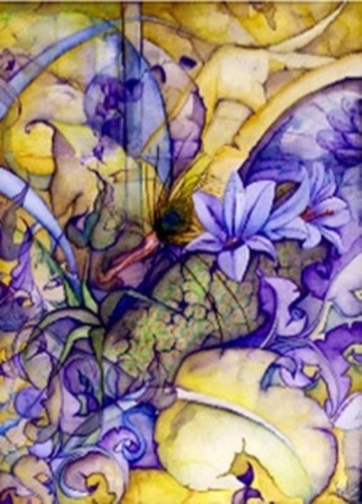 dream of purple - GC art