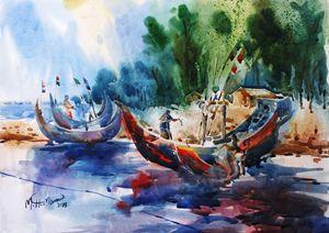 Fishing Boat of Teknaf