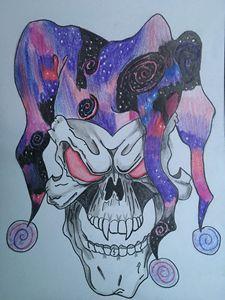 Galaxy skull