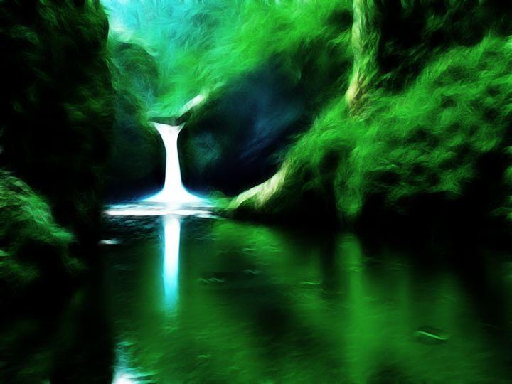 Waterfall - Croag