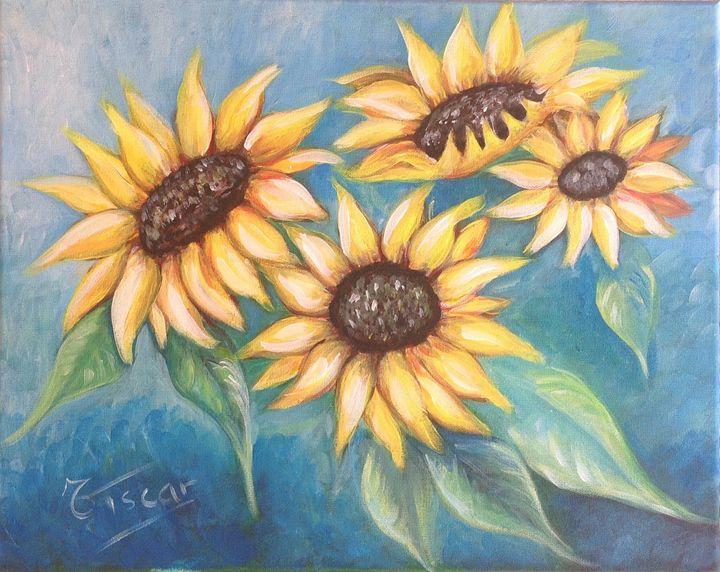 Sunflowers - Tiscar Valles