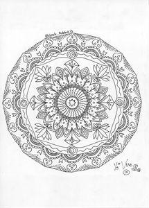 Roundy mandala