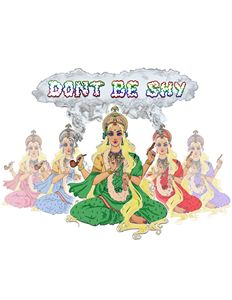 Dont Be Shy logo