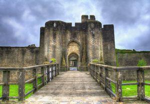 Caerphilly Castle Gatehouse