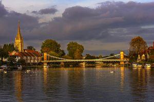 The Thames At Marlow