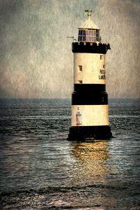 Penmon Trwyn Du Lighthouse Anglesey