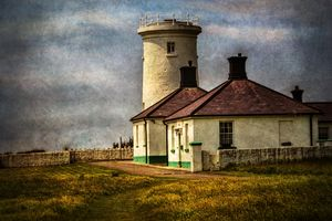 Nash Point Lighthouse Low Tower