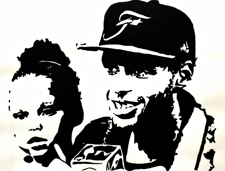 Riley Curry and Stephen Curry - Capturing Life: Art by Kanika Wharton