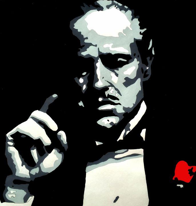 Don Vito Corleone - Capturing Life: Art by Kanika Wharton