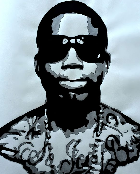 Gucci Mane - Capturing Life: Art by Kanika Wharton