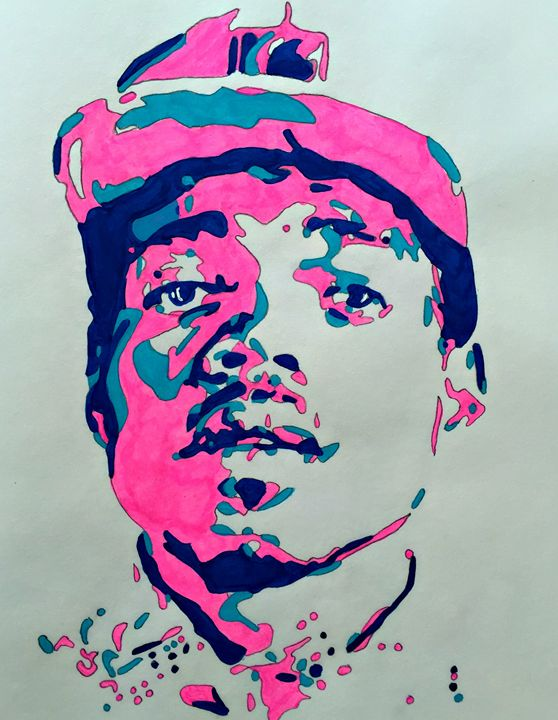 Chance The Rapper - Capturing Life: Art by Kanika Wharton