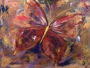 Abstract Butterfly 1
