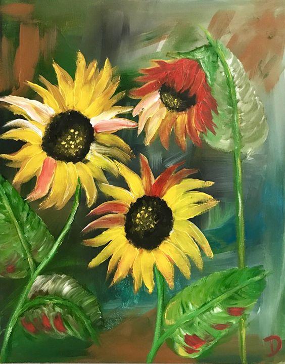 Sunflowers - Dianne Gallagher Designs