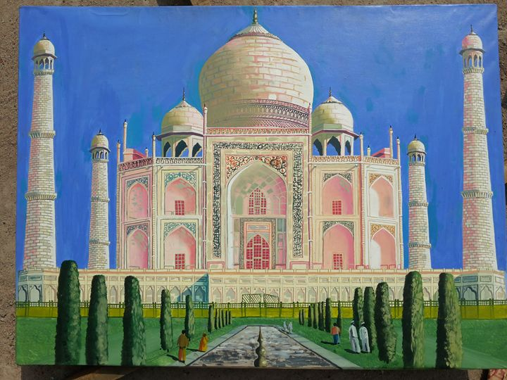 THE TAAJ MAHAL - Vimdeanna Art