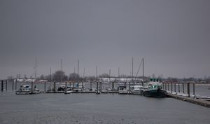 A Cloudy Dock