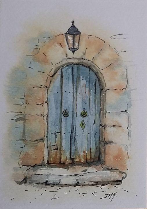 La vielle porte - Jean-marie Nicol