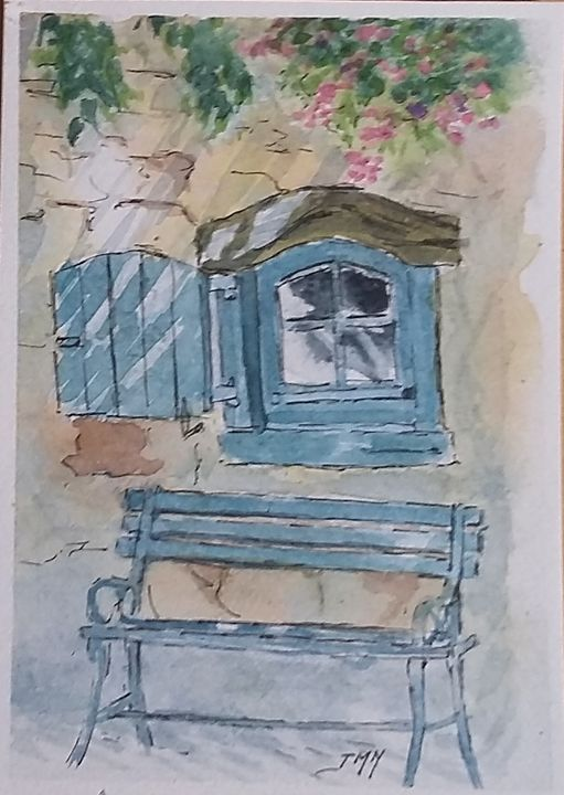 Le vieux banc - Jean-marie Nicol
