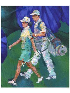 Lady Pro Golfer