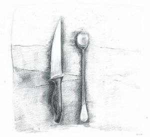 Knife and Spoon (Cutlery).