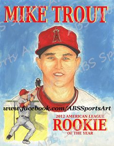 Mike Trout Limited Edition Print