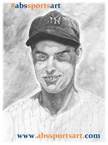 Joe DiMaggio 8 x 10 Inch Print