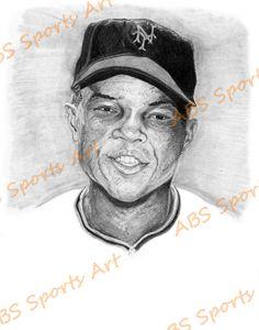 Willie Mays 8 x 10 inch Print