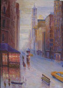 On Broadway, NYC - paunovicart