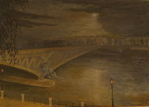 Le Pont Mirabeau, (by to poetry G.A)