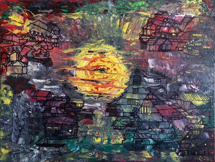 Mesmerizing Sunset - TerryArt