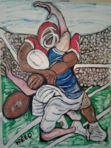Football hard hits - Reeds gallery
