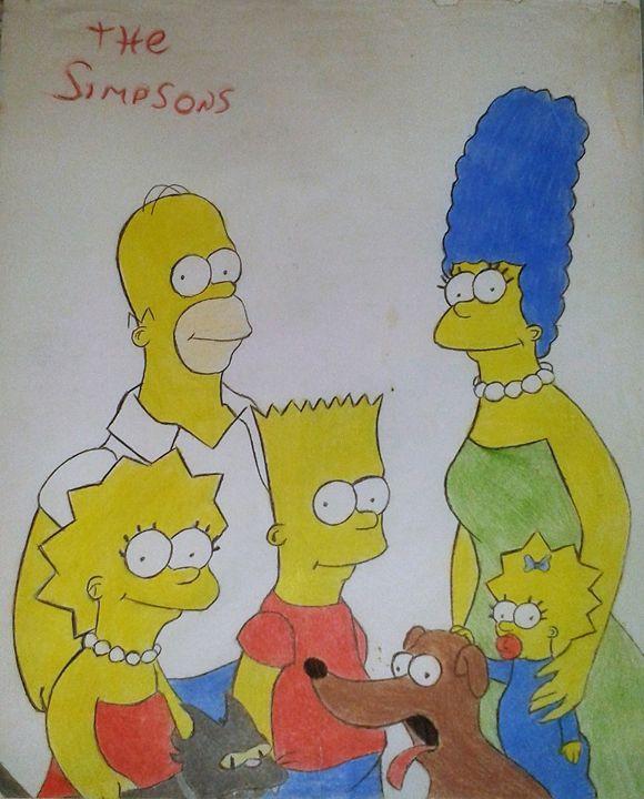 The Simpsons - artstudent82