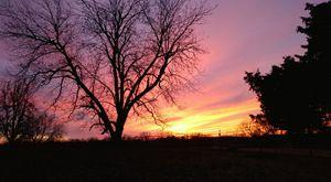 Sunset in Arkansas