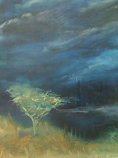 Soul in the woods - Soul work art for sale
