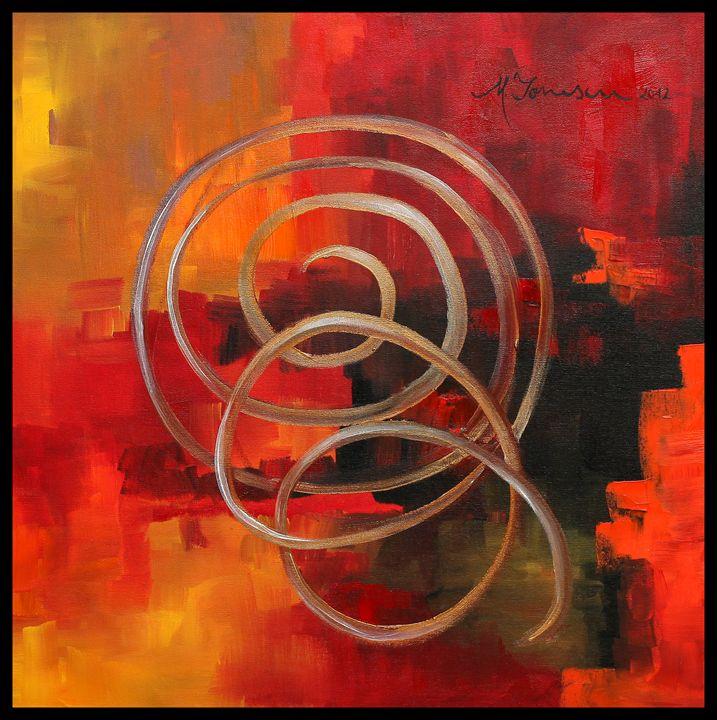 """Fusion in Red"" - Mihaela Ionescu"