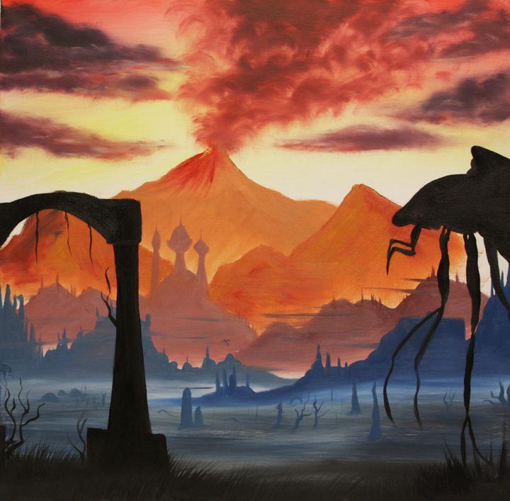 Red Mountain (colour) - Kreatio