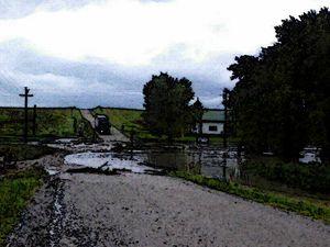 Flood at Wedemeyer's Schoolhouse